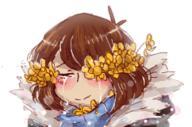FlowerFell Frisk Undertale UndertaleAU // 242x160 // 51.6KB