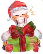 Christmas Papyrus Undertale // 257x326 // 82.8KB