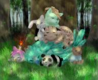 HuggieBear Ocelot33 Rainy_Days Sunny_days WaddleCakes Yuii // 238x193 // 137.2KB