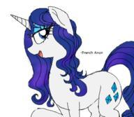 MLP My_Little_Pony Poni Rarity poniponi pony unicorn // 380x330 // 82.9KB