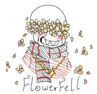 FlowerFell Sans Undertale UndertaleAU // 271x264 // 31.0KB