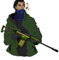 Dystopian Future Rifle Trust Weapon // 527x533 // 116.8KB