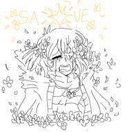 FlowerFell Frisk Undertale UndertaleAU // 443x455 // 39.3KB