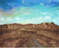 Mort clouds mountains scenery // 233x191 // 114.9KB