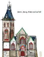 Amiens Architecture France church gothic original schmitz_katze // 251x328 // 69.0KB