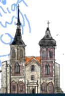 Architecture Coesfeld Germany Romanesque baroque church gothic schmitz_katze // 107x158 // 28.2KB