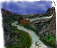 JoeHF River Valley mill mountains // 270x230 // 148.6KB