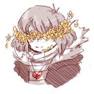 FlowerFell Frisk Undertale UndertaleAU // 318x320 // 46.2KB